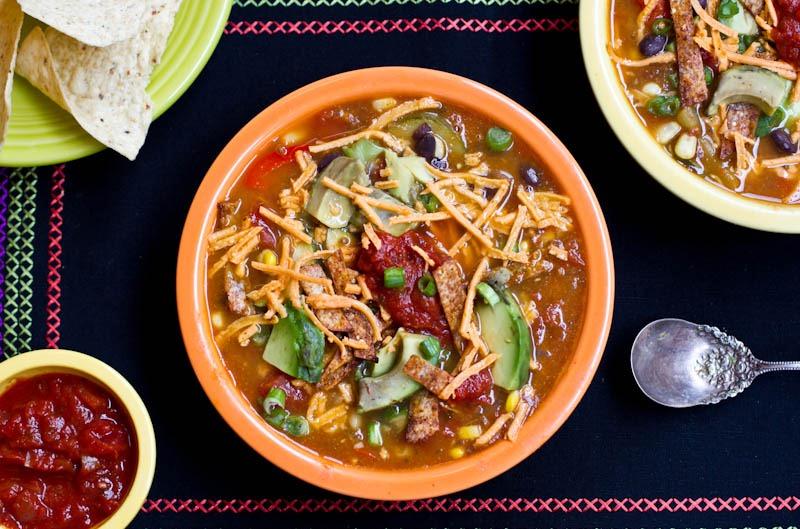 Vegan Tortilla Soup — Oh She Glows