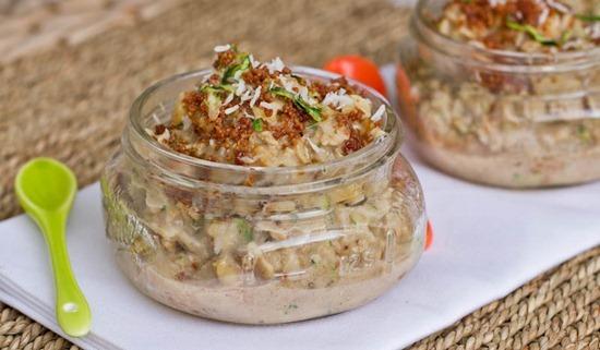 IMG 8636 thumb   Zucchini Bread Oatmeal