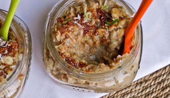 IMG 8662 thumb   Zucchini Bread Oatmeal