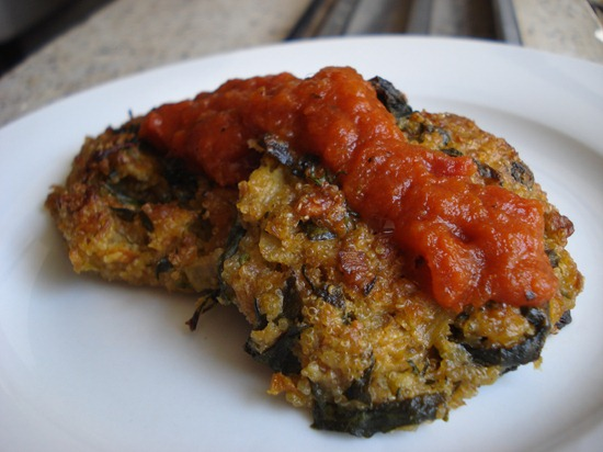 amaranth patties 002 thumb   Vegan Recipes Link Love