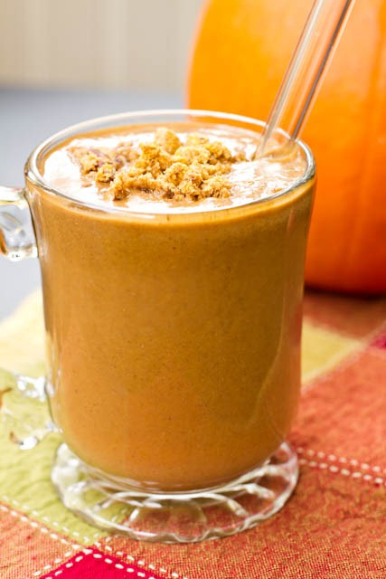 Pumpkin Gingerbread Smoothie — Oh She Glows