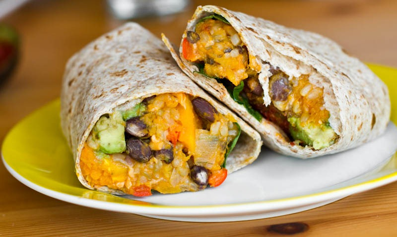 Black Bean and Butternut Squash Burritos — Oh She Glows