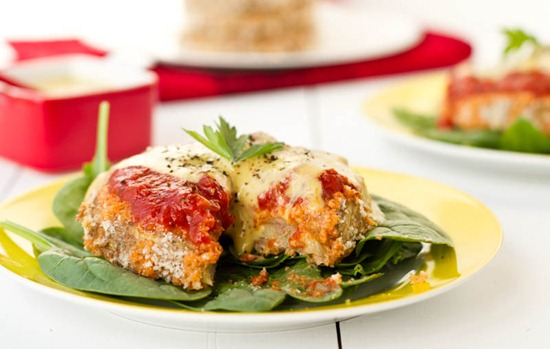 IMG 4267   Eggplant Parmesan