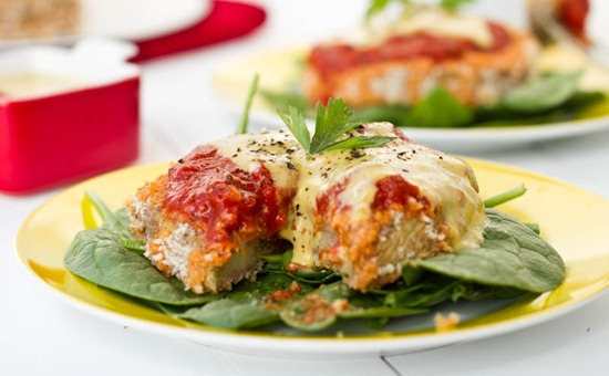 IMG 4268   Eggplant Parmesan