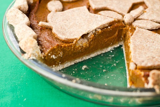IMG 4659   Vegan Pumpkin Pie, Three Ways: Classic, Rustic, & Gluten Free
