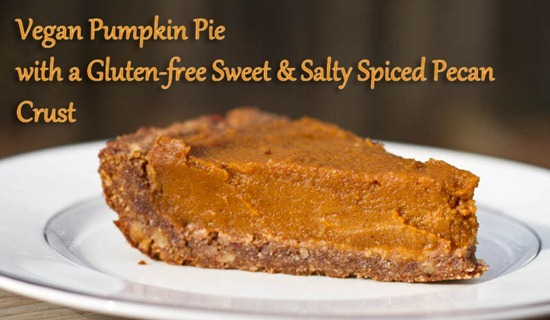 IMG 46791   Vegan Pumpkin Pie, Three Ways: Classic, Rustic, & Gluten Free