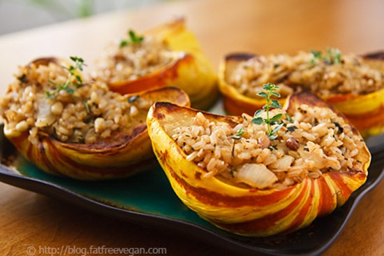 rice-stuffed-squash
