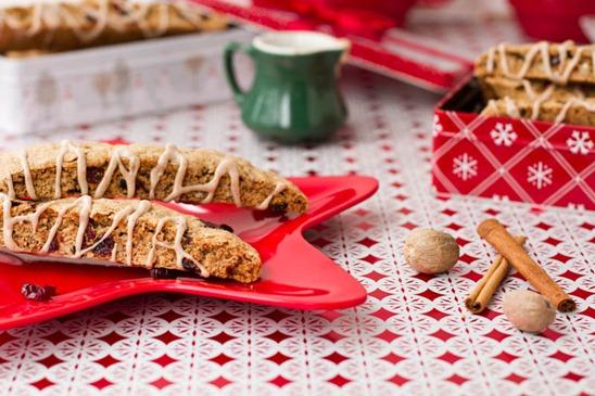 IMG 5381   Vegan Eggnog Crunch Biscotti + Giveaway!!!