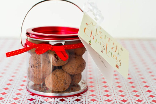 Easy Holiday Gift: Vegan Chocolate Macaroon Truffles — Oh She Glows