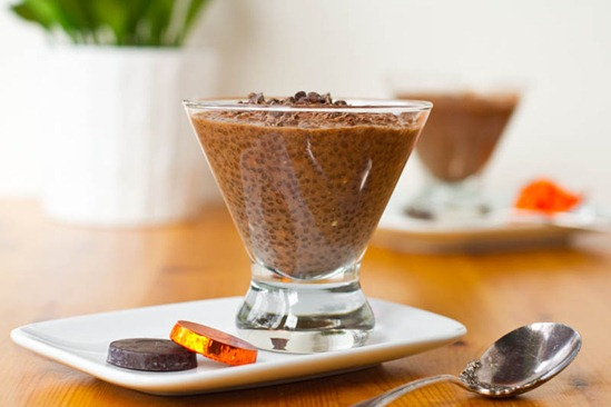 Healthy Chocolate Chia Pudding — Oh She Glows
