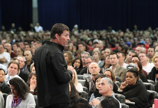 20120219 onc tony robbins 11 600x4111   Lessons from Oprah's Lifeclass in Toronto: Part 2