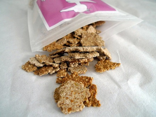 20110324 144013 OneLuckyDuck Crispies thumb   Vanilla Cinnamon Buckwheat Crispies   inspired by One Lucky Duck