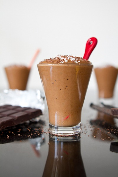 Crazy Woman Chocolate Blender Pudding — Oh She Glows