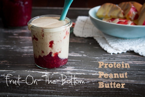 IMG 2860   Fruit On The Bottom Protein Peanut Butter + How To Make Homemade Peanut Butter