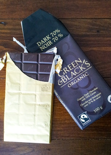 Green and Black Organic Chocolate