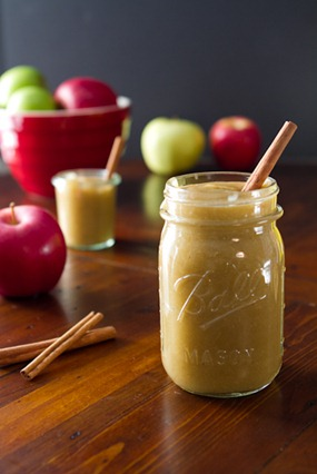Slow Cooker Naked Apple Butter — Oh She Glows