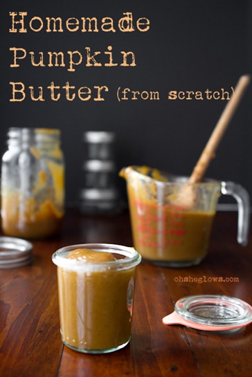 All-Natural Pumpkin Butter From Scratch + Many Ways To Use It! — Oh ...