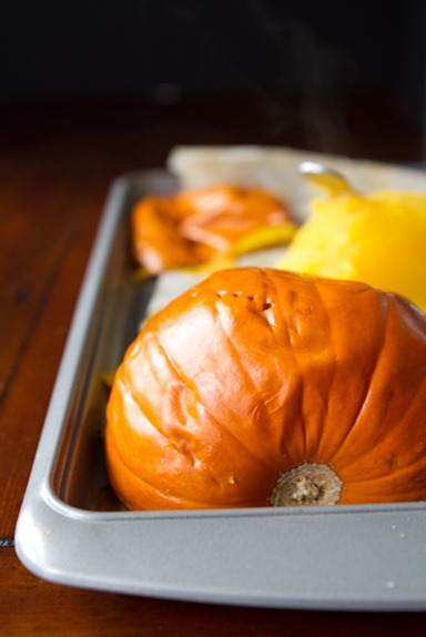 how to make pumpkin puree 5052   How To Roast A Sugar Pumpkin & Make Fresh Pumpkin Purée – A Step by step Photo Tutorial