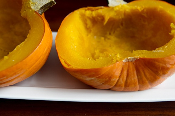 how to roast a pumpkin 4914   How To Roast A Sugar Pumpkin & Make Fresh Pumpkin Purée – A Step by step Photo Tutorial