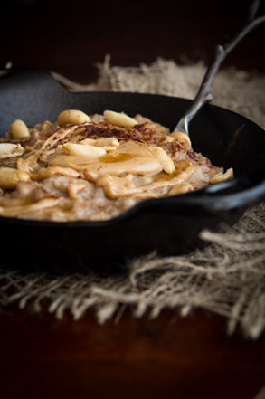 peanut butter banana oatmeal 4960   Early Morning Peanut Butter Banana Oatmeal