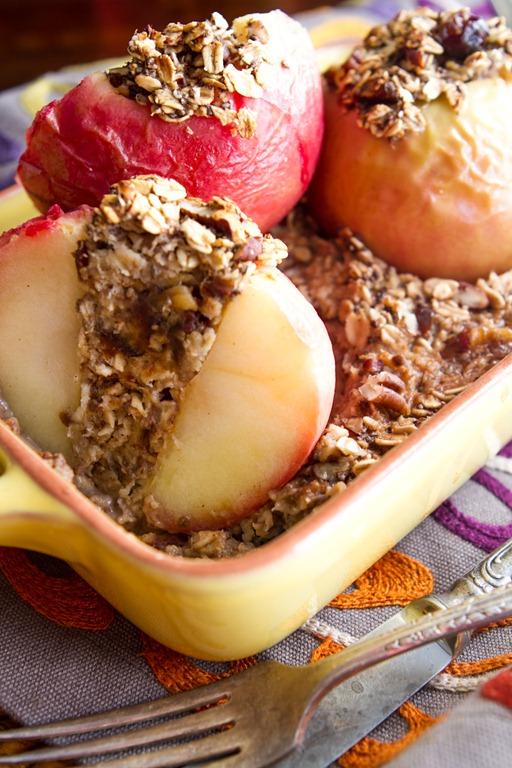 Baked Apple Oatmeal-7375