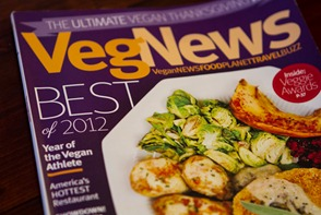 vegnews awards 7600 thumb   Creamy Orange Sunshine Soup (aka…Frankensoup!)