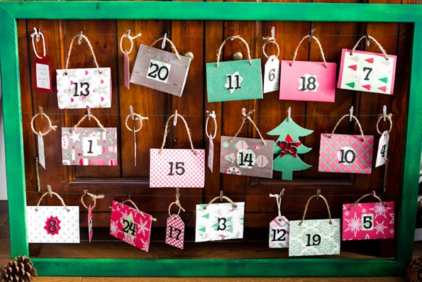 DIY advent calendar 8305 thumb   How To Make a Reusable DIY Advent Calendar