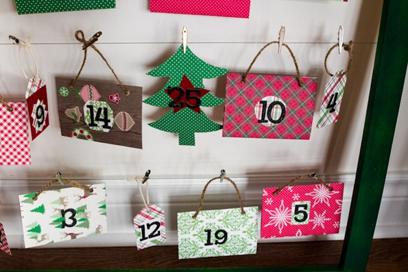 DIY advent calendar 8309 thumb   How To Make a Reusable DIY Advent Calendar