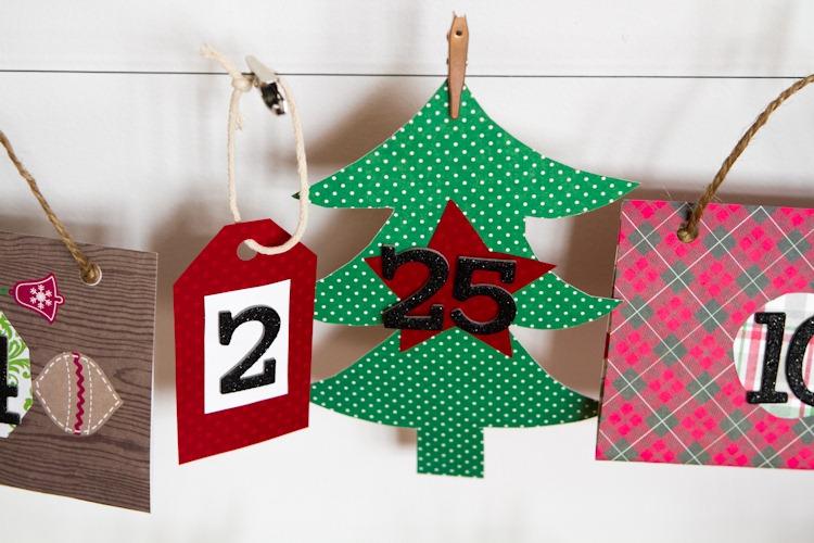 Diy Reusable Advent Calendar : How to make a reusable diy advent calendar — oh she glows