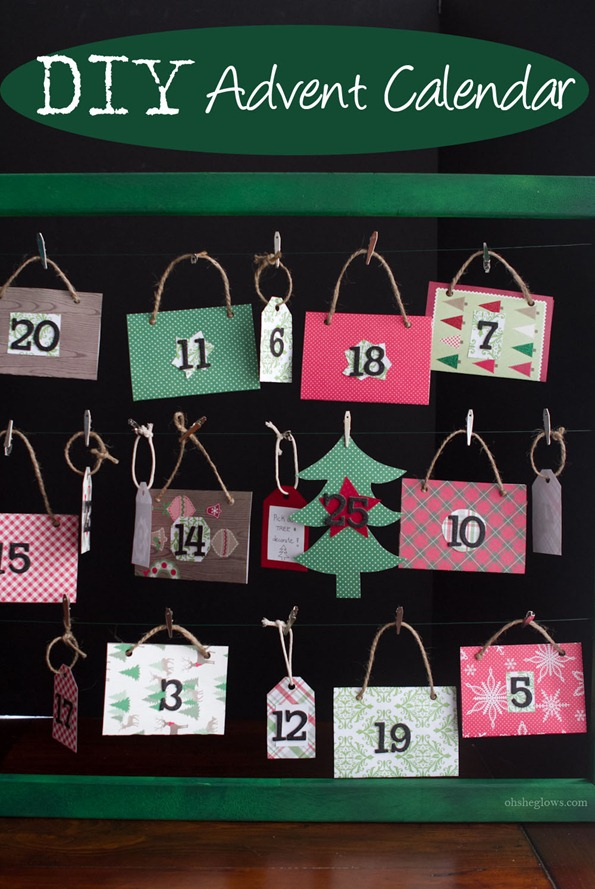 DIY advent calendar 8314 thumb   How To Make a Reusable DIY Advent Calendar