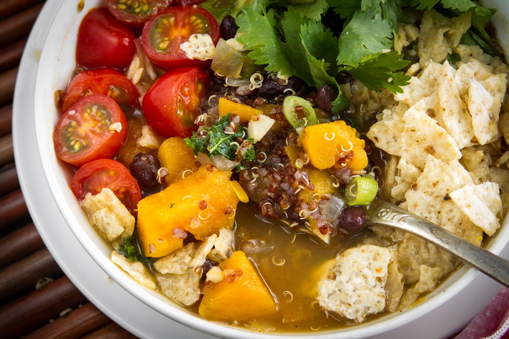 Black Bean, Sweet Potato, and Red Quinoa Soup — Oh She Glows