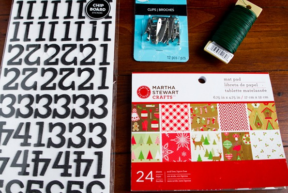 homemade advent calendar 8268 thumb   How To Make a Reusable DIY Advent Calendar