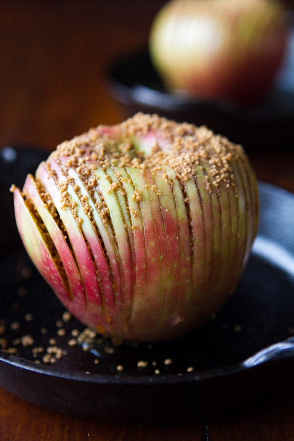 hasselback apple 7495 thumb   Hasselback Potatoes and Hasselback Apples –The Show Down