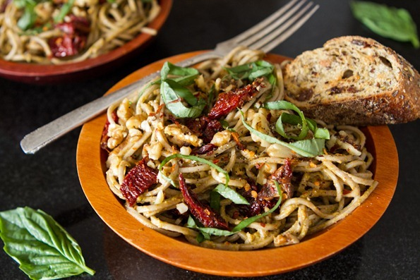 pesto pasta 9901 thumb   Most Popular Vegan Recipes of 2012 {#30 16}