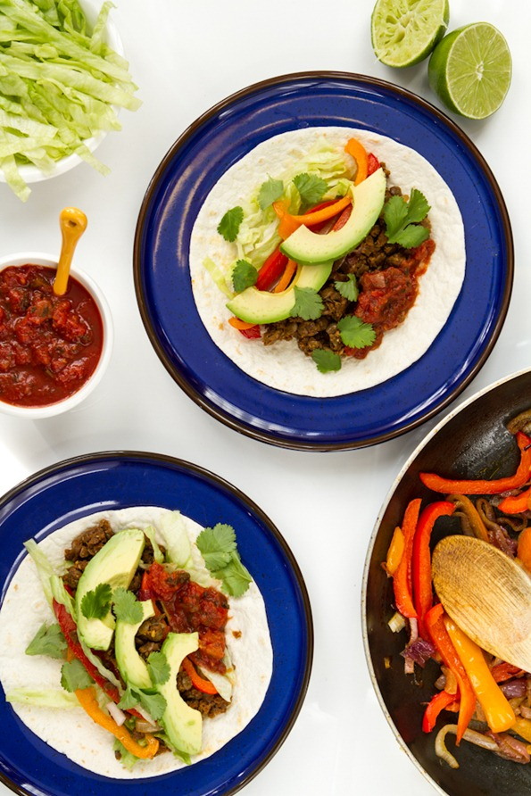 fajitas 2318 thumb   Vegan Fajitas and a Valentine's Day Gone Wrong