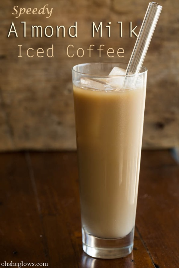 almondicedcoffeeconcentrate 6388   DIY Coffee Concentrate + Speedy Almond Milk Iced Coffee