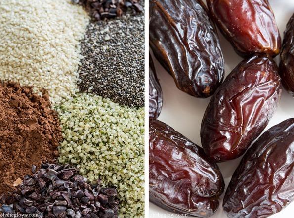 energyballs   Super Seed Chocolate Protein Bites