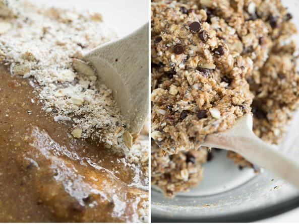 vegantrailmixcookie   Irresistible Chewy Trail Mix Cookies (Vegan + Gluten free)