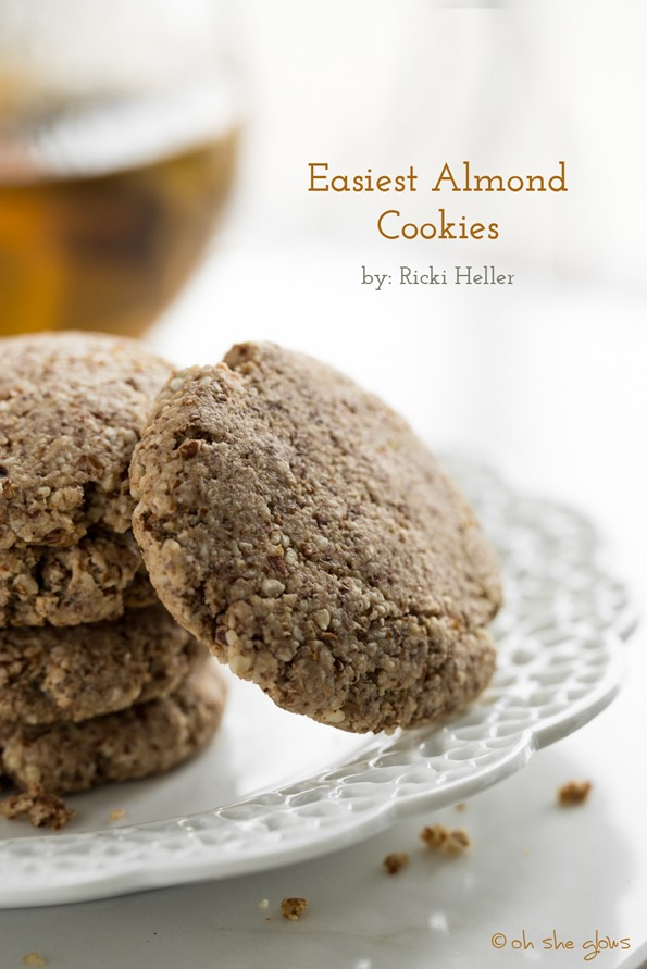 almondcookies 0094   Easiest Almond Cookies + Review of Naturally Sweet & Gluten Free