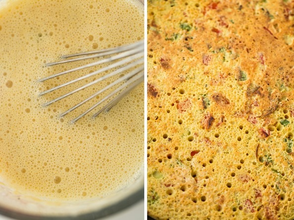 chickpeapancake3   Jumbo Chickpea Pancake – A High Protein, Filling Vegan Breakfast or Lunch!