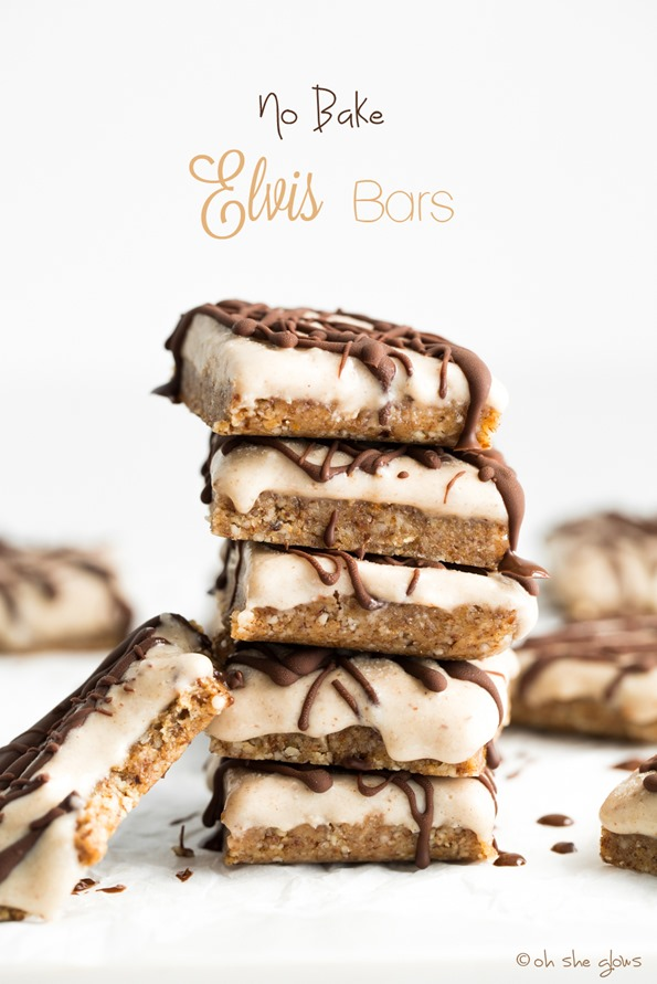veganelvisbars 9939a   No Bake Elvis Bars