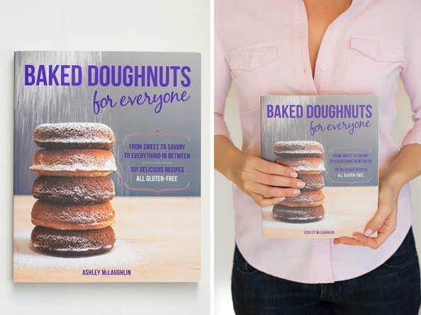 bakeddoughnutsforeveryone   Triple Chocolate Vegan + GF Doughnuts from Baked Doughnuts for Everyone + Giveaway!