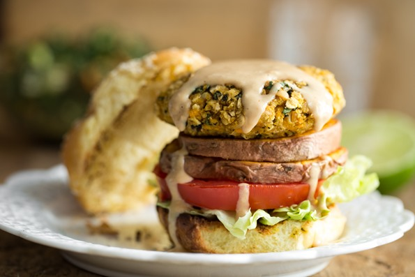 Eric, the peanut butter hater, loves these burgers – peanut sauce ...