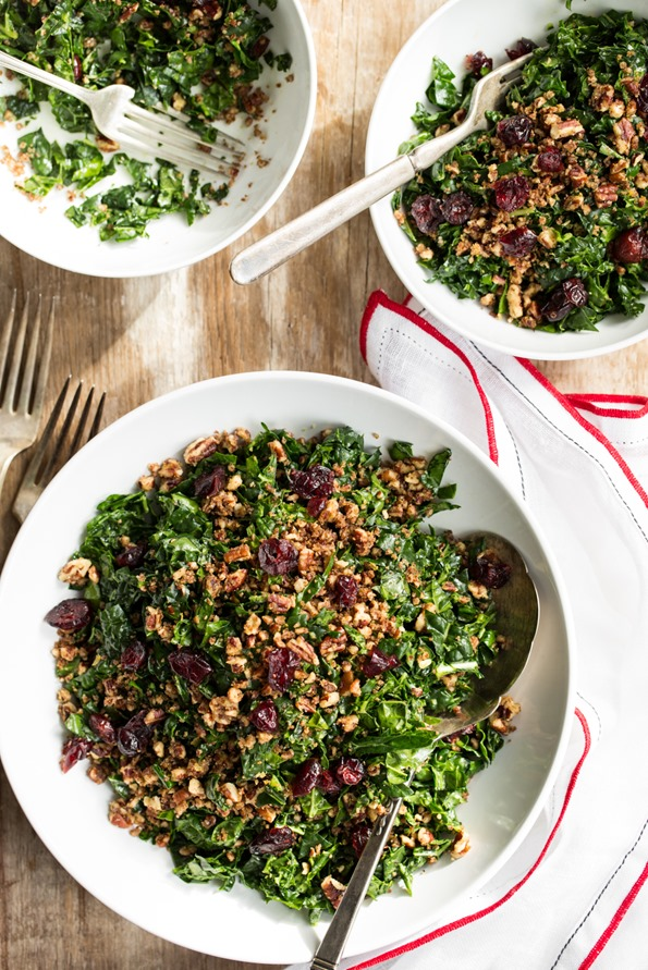 bestkalesalad 3668   The Best Shredded Kale Salad