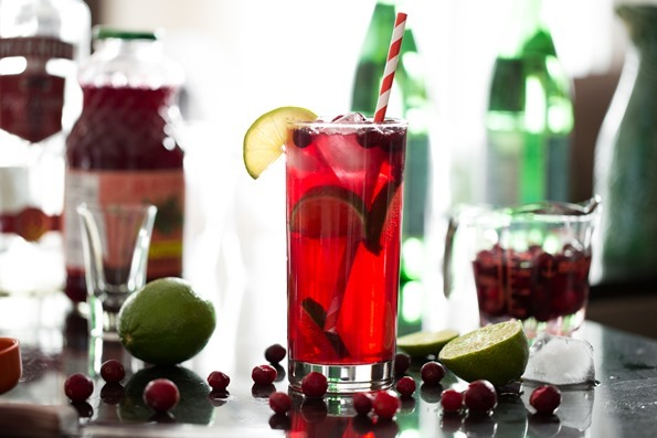 cranberrylimevodkasodacocktail 3723   My Go To Holiday Cocktail – Quick, easy, festive, and low in sugar!