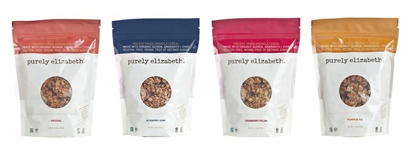 4 granola bags small   Giveaway: $100 gift card + 6 bags of Purely Elizabeth Granola!