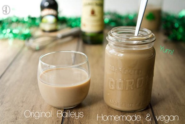 baileys   17 Vegan Holiday Desserts & Drinks