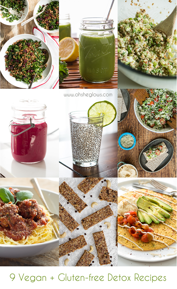 detoxrecipes   9 Delicious Vegan and Gluten Free Detox Recipes