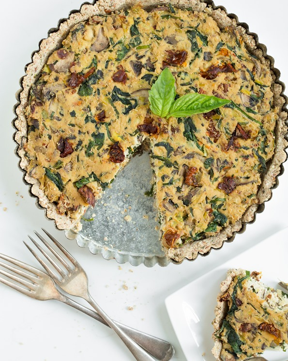 quiche 8645   8 Favourite Vegan Lunch & Dinner Recipes of 2013