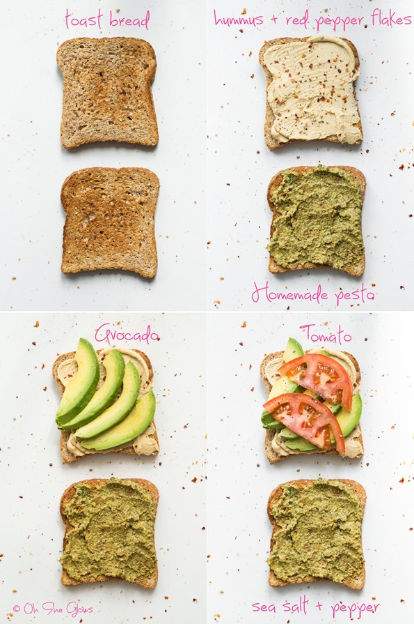 sandwich   8 Favourite Vegan Lunch & Dinner Recipes of 2013